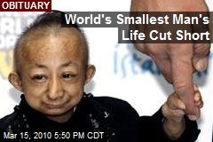 World's Smallest Man's Life Cut Short