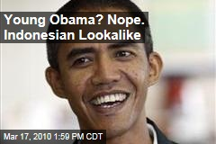 Young Obama? Nope. Indonesian Lookalike