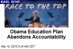 Obama Education Plan Abandons Accountability