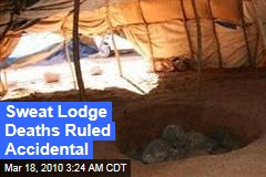 Sweat Lodge Deaths Ruled Accidental