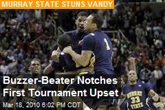 Buzzer-Beater Notches First Tournament Upset