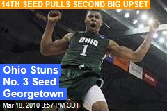 Ohio Stuns No. 3 Seed Georgetown