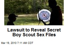 Lawsuit to Reveal Secret Boy Scout Sex Files