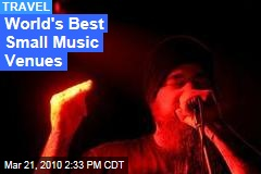 World's Best Small Music Venues