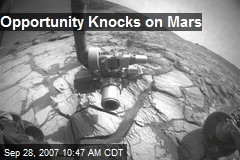 Opportunity Knocks on Mars