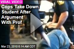 Cops Take Down Student After Argument With Prof