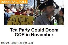 Tea Party Could Doom GOP in November