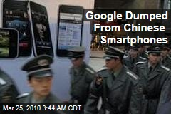 Google Dumped From Chinese Smartphones