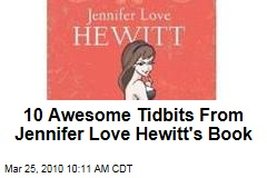 10 Awesome Tidbits From Jennifer Love Hewitt's Book