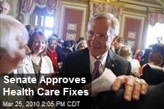 Senate Approves Health Care Fixes