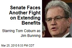 Senate Faces Another Fight on Extending Benefits