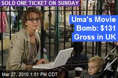 Uma's Movie Bomb: $131 Gross in UK