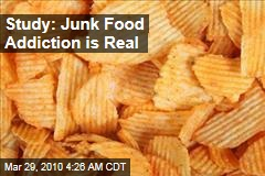 Study: Junk Food Addiction is Real