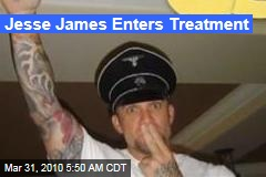 Jesse James Enters Treatment