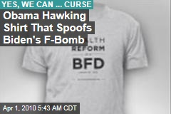 Obama Hawking Shirt That Spoofs Biden's F-Bomb