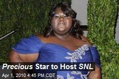 Precious Star to Host SNL