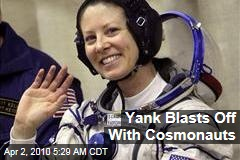 Yank Blasts Off With Cosmonauts