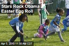 Stars Rock Obama Easter Egg Roll