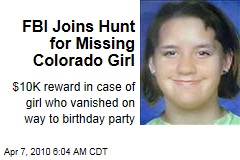 FBI Joins Hunt for Missing Colorado Girl
