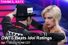 DWTS Beats Idol Ratings