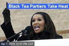 Black Tea Partiers Take Heat