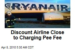 Discount Airline Close to Charging Pee Fee