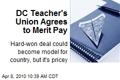 DC Teacher's Union Agrees to Merit Pay