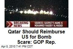 Qatar Should Reimburse US for Bomb Scare: GOP Rep.