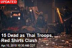 15 Dead as Thai Troops, Red Shirts Clash