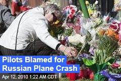 Pilots Blamed for Russian Plane Crash