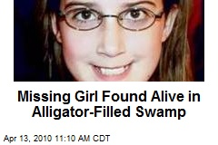 Missing Girl Found Alive in Alligator-Filled Swamp