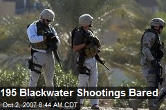 195 Blackwater Shootings Bared