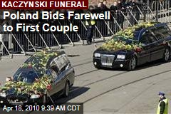 Poland Bids Farewell to First Couple