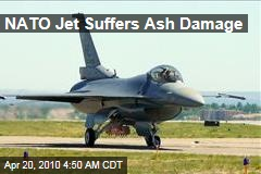 NATO Jet Suffers Ash Damage