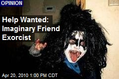 Help Wanted: Imaginary Friend Exorcist