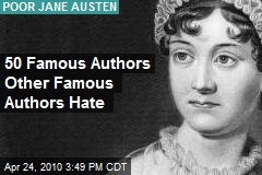 50 Famous Authors Other Famous Authors Hate