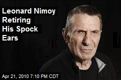 Leonard Nimoy Retiring His Spock Ears