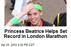 Princess Beatrice becomes first royal to complete London Marathon - Telegraph