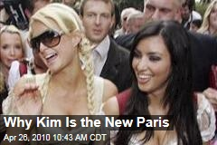 Why Kim Is the New Paris