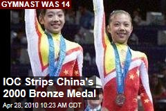 IOC Strips China's 2000 Bronze Medal