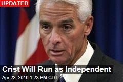 Report: Crist Will Run as Independent