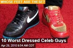 10 Worst Dressed Celeb Guys