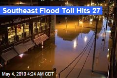 Southeast Flood Toll Hits 27