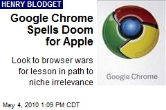 Hey, Apple, Google Chrome Is Kicking Safari's Ass