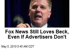 Murdoch Loves Glenn Beck, Despite Ad Boycott