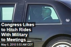 Congress Likes to Hitch Rides With Military to Meetings