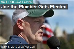 Joe the Plumber Gets Elected