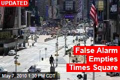 Suspicious Package Empties Times Square