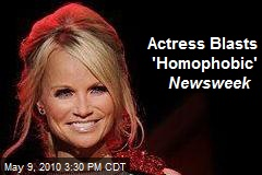 Actress Blasts 'Homophobic' Newsweek