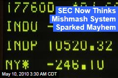 SEC Now Thinks Speed, Mishmash System Sparked Market Mayhem